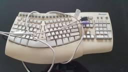 Rarissimo Teclado Microsoft Natural Keyboard
