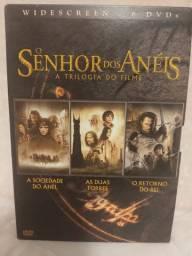 Box dvd trilogia senhor dos anéis