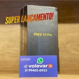 PROMOÇÃO 12x176 cartão! Poco X3 PRO 256GB 8GB - Novo Lacrado GARANTIA - Global