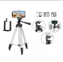 Tripé para celular e câmera ajustável promoção