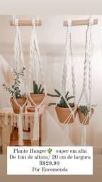 Suporte de plantas Macramé