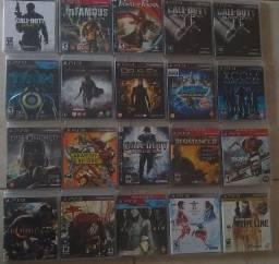 Jogos PS3 promoção 5 por 100