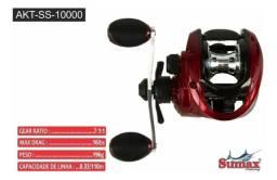 Carretilha Sumax Akita 10000 10 Rolamentos Nova na Caixa