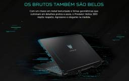 Notebook Gamer Predator Core I7 9 Geração, 16GB Ram, Geforce GTX1660TI
