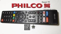 Controle Remoto Philco Le-7250, para Tv Smart