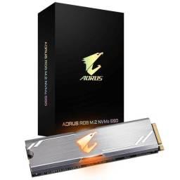SSD M.2 NVMe Gigabyte Aorus RGB 256GB