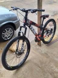Título do anúncio: Bicicleta VikingX tuff 25 com apenas algumas marcas de uso mostradas nas fotos