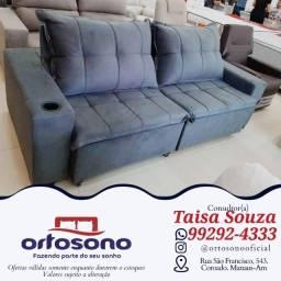 Título do anúncio: sofá sofá $$ sofá retrátil reclinável com nota fiscal e garantia de fábrica
