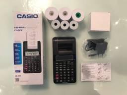 Calculadora Casio HE-8RC com bobinas NOVA