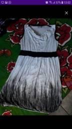 Título do anúncio: BAZAR vestido armadinho branco tamanho G