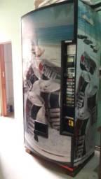 Maquina de refrigerante moeda vending machine