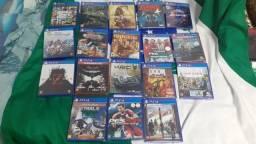 Título do anúncio: Jogos PS4 (novos/lacrados)