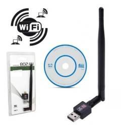 Adaptador Wi-Fi com Antena