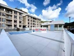 Título do anúncio: Apartamento com 2 dormitórios para alugar, 58 m² por R$ 900,00/mês - Prata - Teresópolis/R