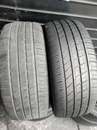 Título do anúncio: Par de pneus 235/55/17