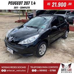 Peugeot 207 1.4 completo 2011!!