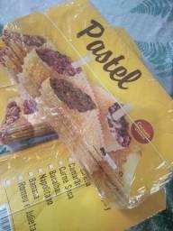 Embalagem de pastel + Sacola Kraft fast food