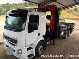 Volvo VM 270 2016 com Munck Madal 45 Ton com Serviço Negócio Rápido + entrada e parcelas