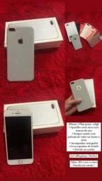 iPhone 7 Plus prata 128gb