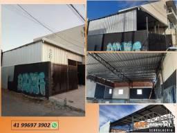 Título do anúncio: Barracão Metálico, fechamento lateral, galpão,  Coberturas  casas