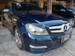Título do anúncio: Raridade! Mercedes Benz C180 Couper Sport Turbo 2015 Blidado Com Teto Solar!!!!!!!Linda...