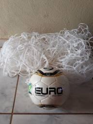Bola de futsal euro com rede