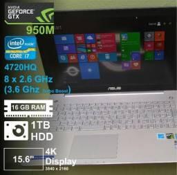 GTX 950M 4K 16GB Core i7