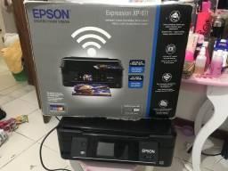 Impressora Epson seminova vd ou troco por celular