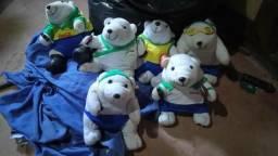 Urso polar da Coca Cola vários esportes