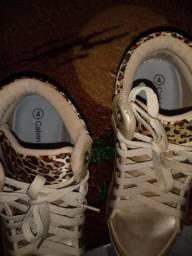 Sapato estilo onçinha feminino!!