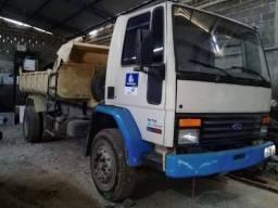 Vendo caminhão ford cargo 1418 caçamba 1990 - 1990