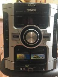 Mini System Sony Genezi MHC-GT22 Completo, todo funcionando!