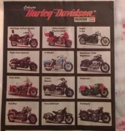 Miniatura 1/18 de Moto Harley-Davidson