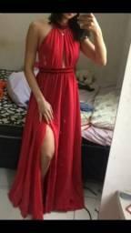 Vestido de festa vermelho 80