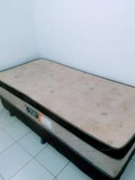 Cama box solteiro (compact spring)