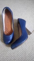 Scarpin Bebecê Azul 36