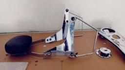 Sisibar removível com afastador alforje Dyna Super Glide Harley Davidson