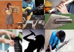 Aula instrumental e Canto