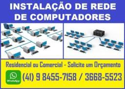 Instalação de Rede de Computadores