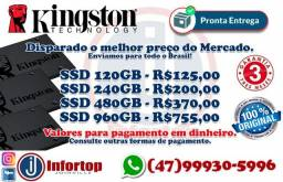 "Hd Ssd 120gb A400 Kingston ""lacrado"""