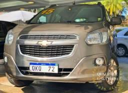 GM - Chevrolet Spin LTZ 1.8 automatica 7 lugares GNV ac cartao e facilito - 2015