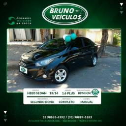 Hyundai hb20s style 13/14 completo - 2014