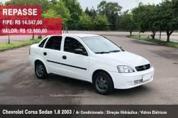 Chevrolet Corsa Sedan 1.8 - 2003 - Completo - 2003