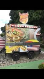 Vendo ou troco food truck novinho - 2016