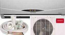 Instalação de ar condicionado Split - aceitamos cartões