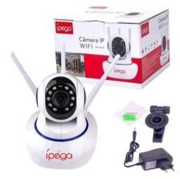 Câmera ip Wifi Kp-ca127 Ípega Hd 720p Visão Noturna 3 Antenas