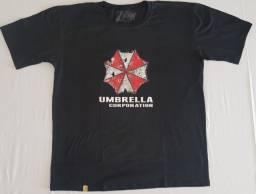 Usado, Camiseta Gamer - Umbrella Corporation - Preta/branca/cinza comprar usado  Belo Horizonte