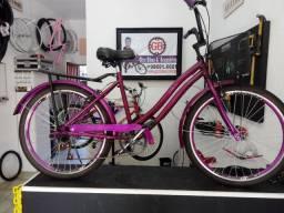 Bicicleta Vintage feminina 26