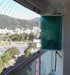 Fechamento de varanda cortina de vidro - direto da fabrica - Pagto Ate 6x sem juros