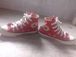 Tênis All Star infantil vermelho